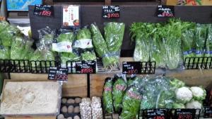 珍しいお野菜もおいてます!